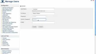 Video-Tutorial zur Erstellung eines Benutzers in Confluence