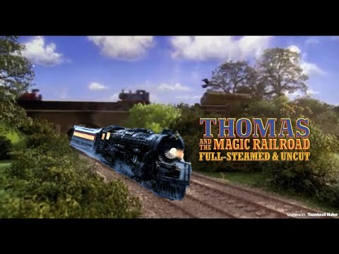 'Thomas and the Magic Railroad' Chase w/ Polar Express Themes