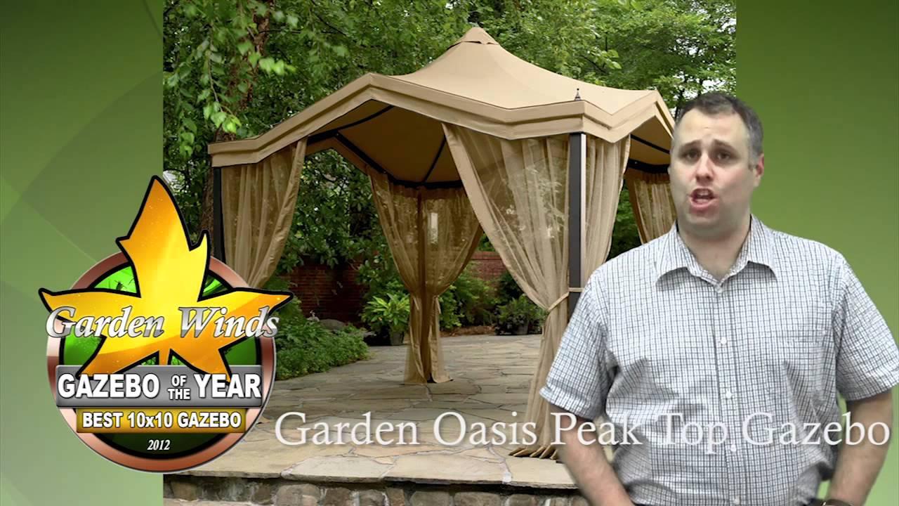garden winds gazebo of the year award 2012 - Garden Winds Gazebo