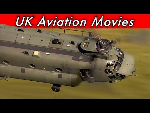 Super low level RAF Boeing CH-47 Chinook - Mach Loop - 30th August 2017