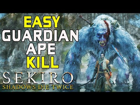 SEKIRO BOSS GUIDES - How To Easily Kill The Guardian Ape!