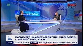 Rozmowy niedokończone: Mocniejsze i słabsze strony Unii Europejskiej i obecność w niej Polski