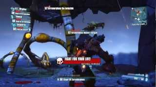 Borderlands 2 Gameplay: Killing Terramorphous W/ Live Commentary
