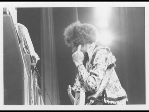 Jimi Hendrix- Tivolis Konsertsal, Copenhagen, Zealand, Denmark 1/7/68