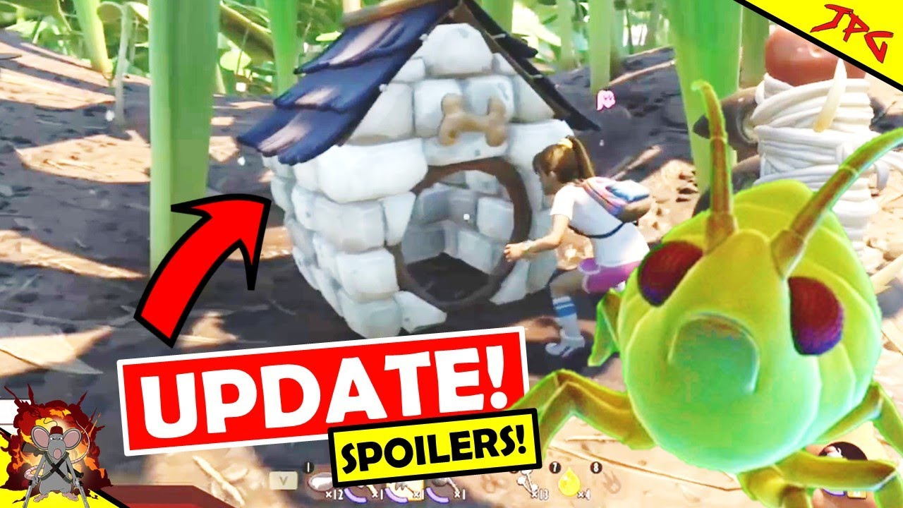 GROUNDED How To Tame APHID AND WEEVIL PETS! More Spoilers And All The Shroom And Doom Update Info!