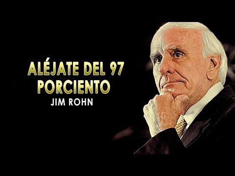 Aléjate Del 97% - Jim Rohn Español (Video Lyrics)