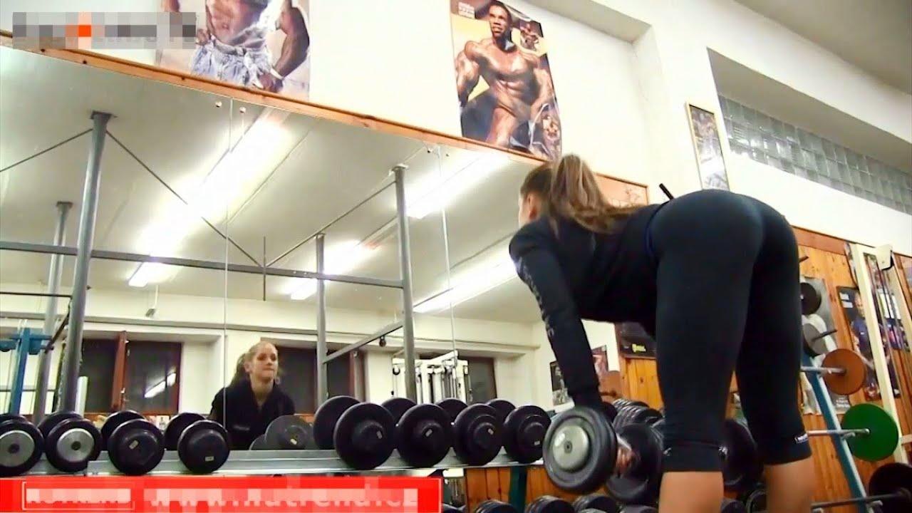 Русские девушки в тренажерном зале — photo 11