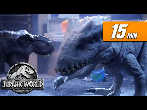 The Very BEST Sweded Jurassic World Videos! | Jurassic World | Mattel Action!