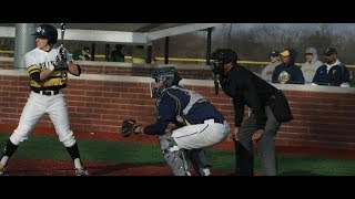 Baseball vs Albion 4/20/19