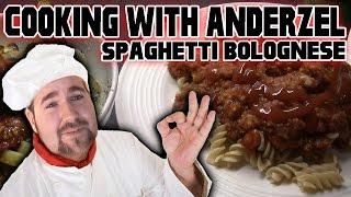 COOKING With AnderZEL E04 - Spaghetti Bolognese (köttfärssås o Spagetti)