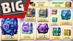 ALLE CLASH ROYALE KISTEN ÖFFNEN | MEGA UPDATE Chest Opening | Clash Royale deutsch