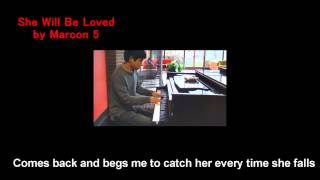 09. Maroon 5 - She Will Be Loved (Will Ting Piano Cover)