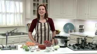 Crockpot Lean BBQ Beef with Homemade Sauce and Sweet Potato Salad