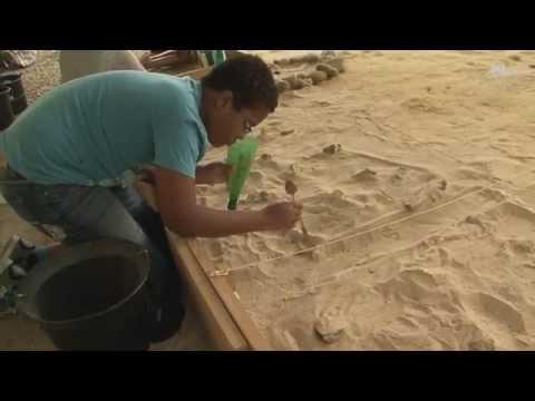 Dans la peau d'un archéologue à Brassempouy