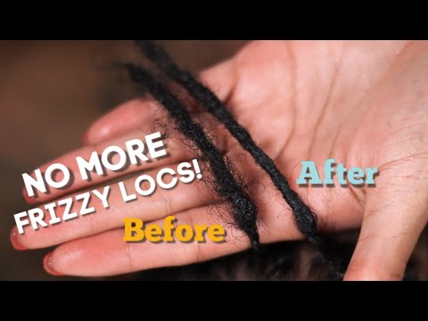 How to smooth + style short locs | Two strand twists