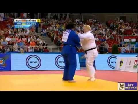 Judo 2013 European Championships Budapest: Kuelbs (GER) - Kindzerska (UKR) [+78kg] bronze