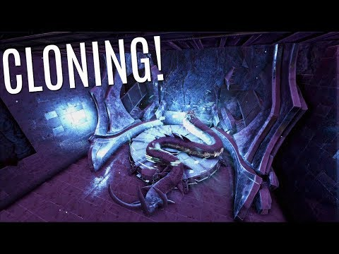 CLONING MY 1st DINO and 1st Piece of Tek - Official PVP (E96) - ARK Survival