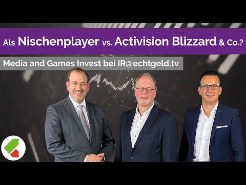 Nischenplayer vs. Activision & Co.? | Remco Westermann | Media and Games | IR@echtgeld.tv 28.05.2020