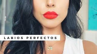 Como aplicar labial mate: LABIOS PERFECTOS | Eva Davis