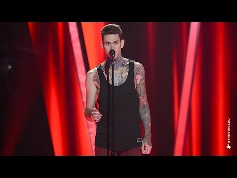 Matthew Garwood Sings All I Ask Of You  The Voice Australia 2014