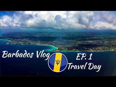 TRIP TO BARBADOS EP. 1 'Travel Day'   Vlog #37