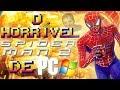 O Horrível Homem-Aranha 2 de PC ( Especial Spider-Man PS4 )( Curiosidades dos Jogos Games Análise )