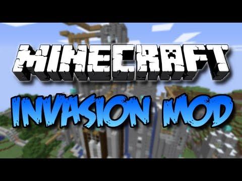 Minecraft – Invasion Mod! Nazi Zombie like Wave Survival