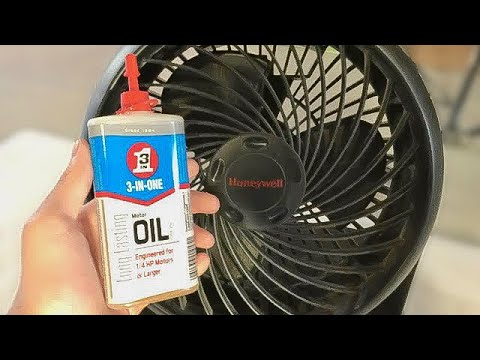 Cleaning & Oiling - 2006 Honeywell HT-809 (HT-800) Air Circulator