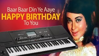 Baar Baar Din Ye Aaye ( Happy Birthday ) Piano Tutorial | Pianobajao