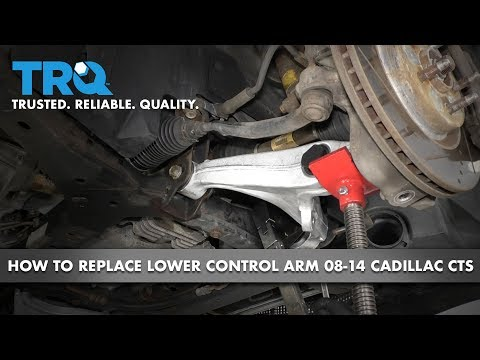 How to Replace Front Lower Control Arm  08-14 Cadillac CTS