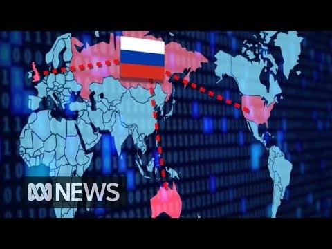 Russia blamed for major cyber attacks