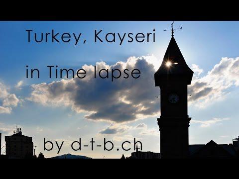 Turkey, Kayseri, Time lapse of d-t-b.ch