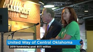 United Way of Central Oklahoma announces fundraising goal, Wayfinder grant winners