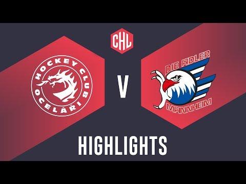 Highlights: Oceláři Třinec vs. Adler Mannheim