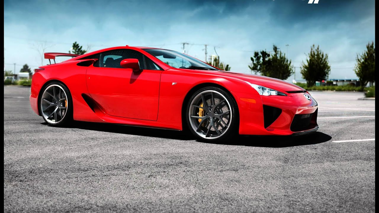 Lexus LFA - Fastest and Expensive Car in the World - YouTube