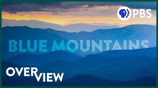 Why are these mountains BLUE? | 4K Drone Footage