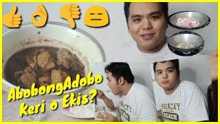 VLOG #19 Abobong Adobo: First Time Maglutooo! | Jonald Revilla