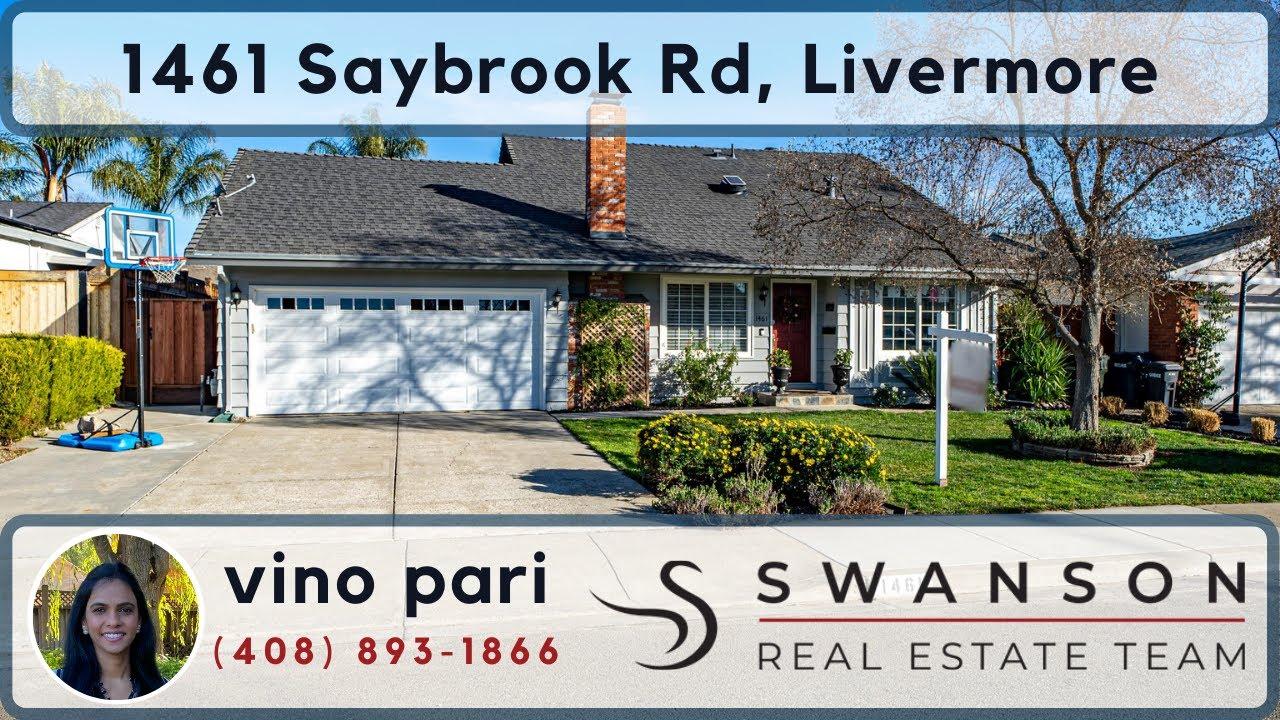 1461 Saybrook Rd, Livermore