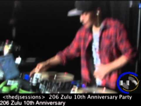 DJ Qbert at the 206 Zulu 10th Year Anniversary