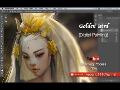Golden Bird [3rd][Digital Painting]