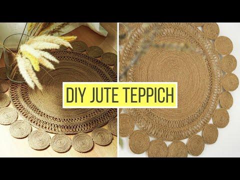 runden-boho-jute-teppich-selber-machen- -diy-wanddeko- -diy-teppich-aus-seil,-jute-oder-sisal