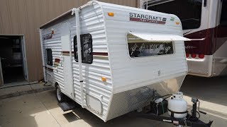 2012 Starcraft Ar--One 16BH Small Travel Trailer, 2800 Pounds, Clean, $6,995