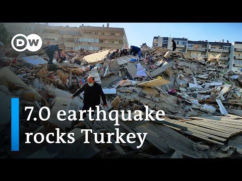 Turkey's Izmir hit with magnitude 7.0 earthquake   DW News