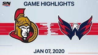 NHL Highlights   Senators vs Capitals – Jan. 7, 2020