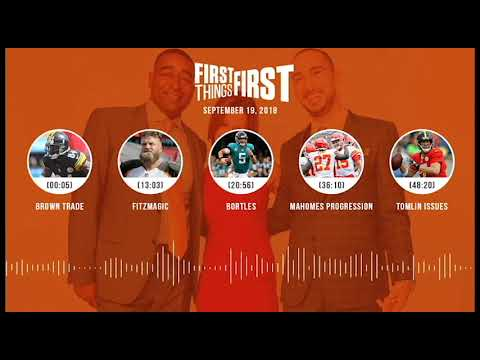 First Things First audio podcast(9.19.18) Cris Carter, Nick Wright, Jenna Wolfe | FIRST THINGS FIRST