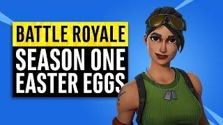 Fortnite Battle Royale | Season One Easter Eggs