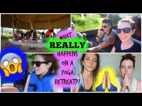 What *REALLY* Happens at a Yoga Retreat? [Laura's Views]