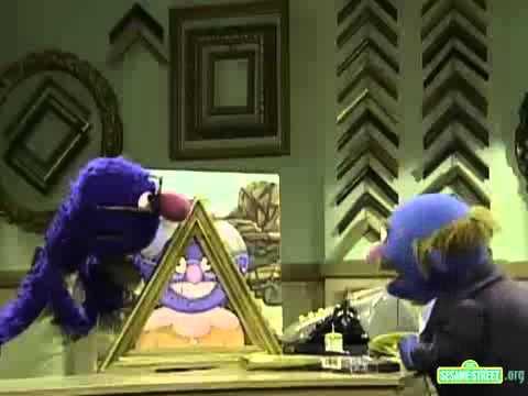 Sesame Street Grover S Frame Shop Youtube