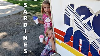 SARDINES AND SNOW CONES!! | HIDE AND SEEK