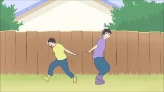 【手描き】おそ松さん+パンダヒーロー【六つ子】 full thumbnail